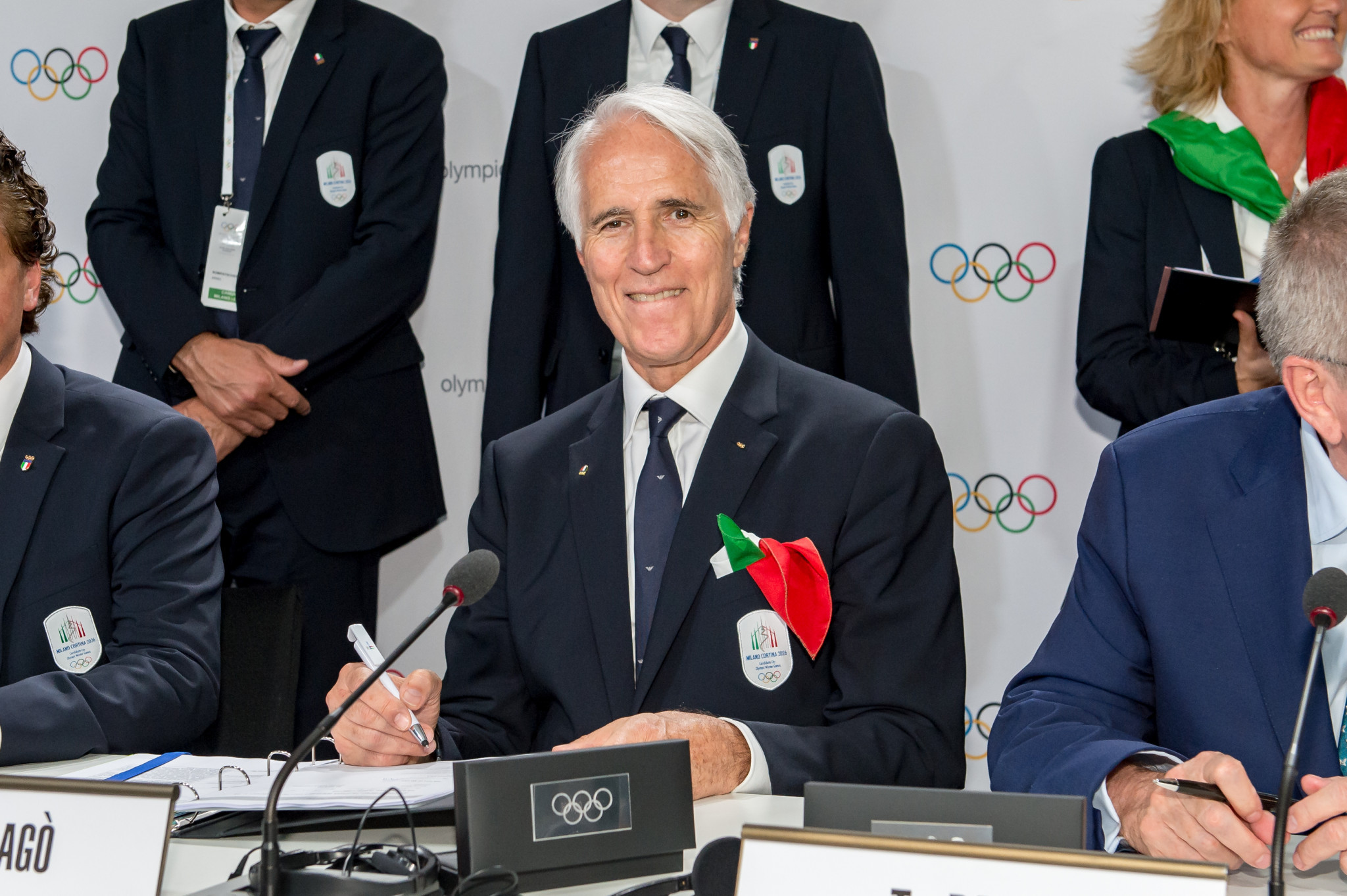 Giovanni Malagò is seeking a third term as CONI President ©Getty Images