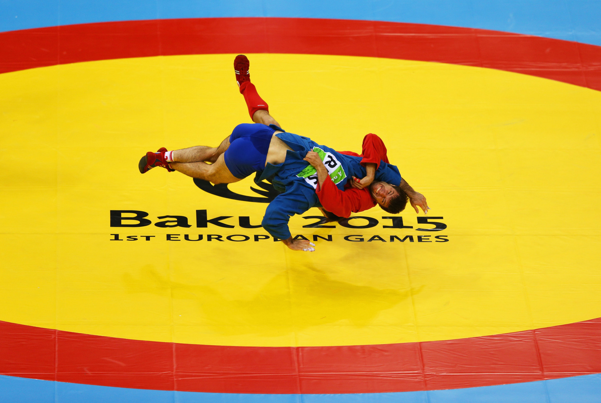 Sambo was part of the programme when Baku hosted the first European Games in 2015 ©Getty Images