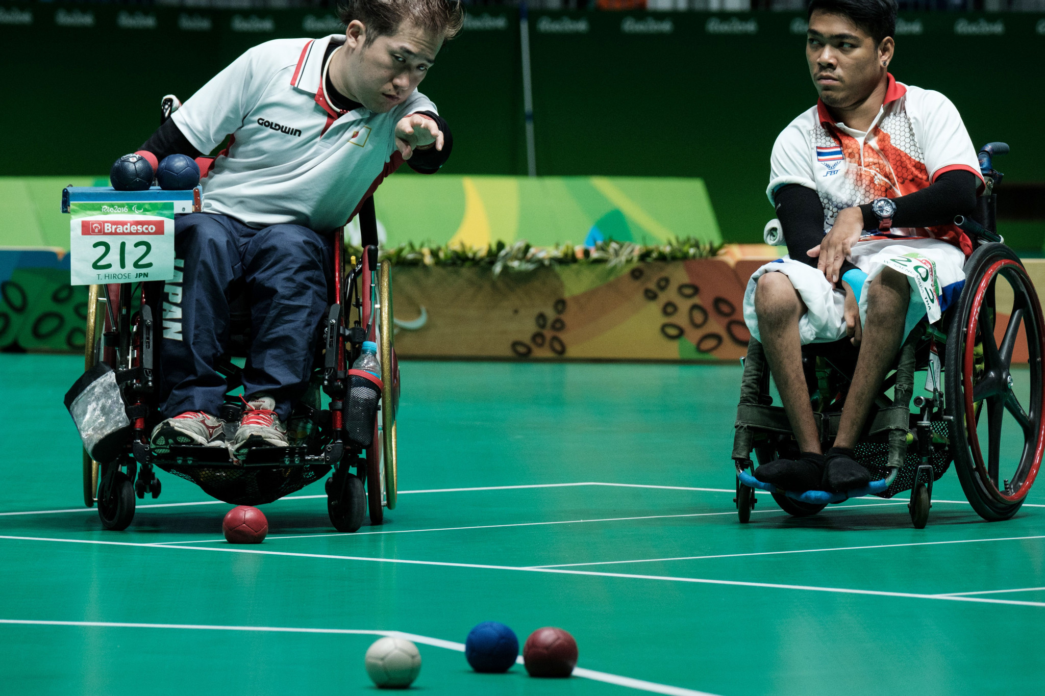 Boccia ball rules were tightened ahead of the Rio 2016 Paralympics ©Getty Images