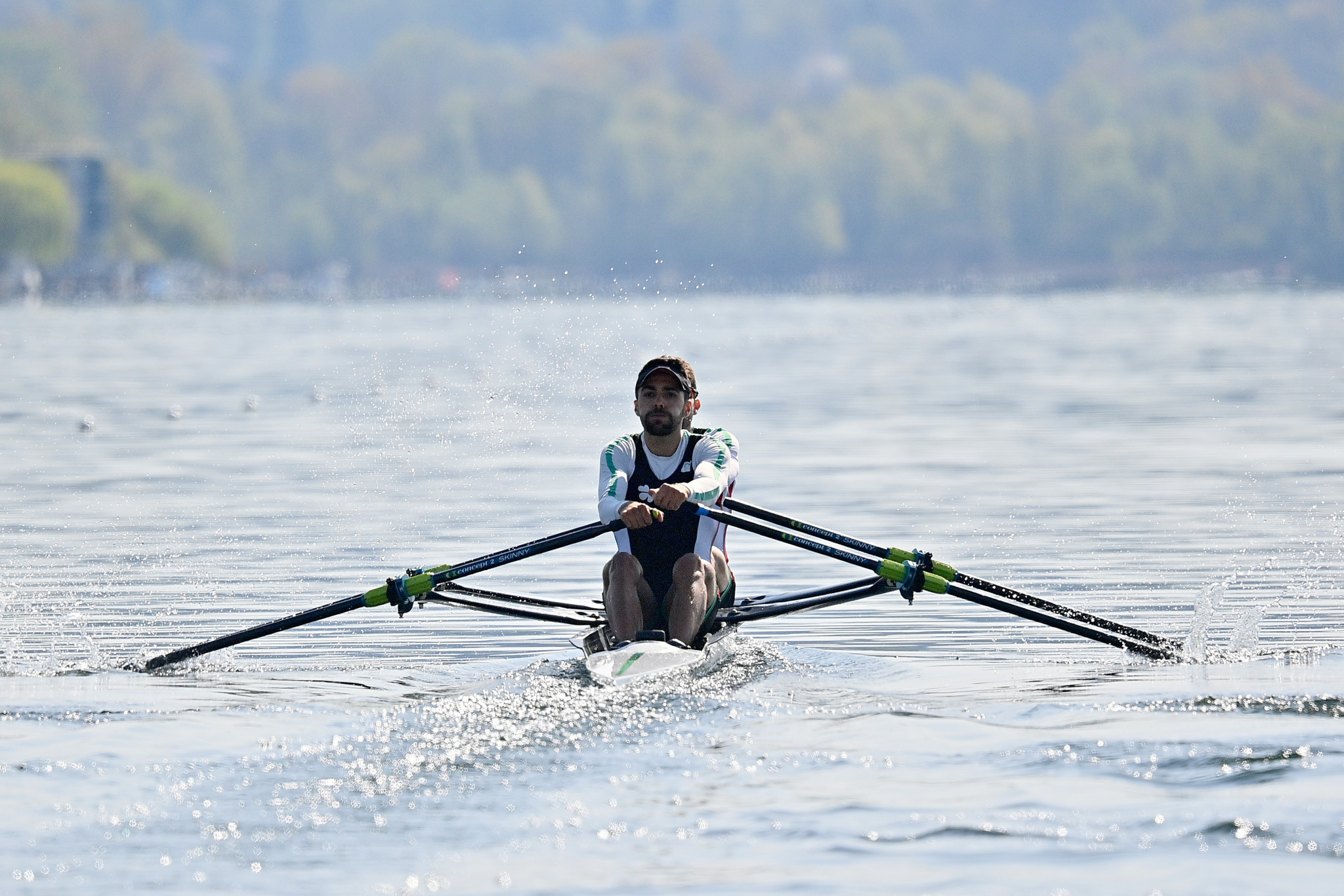 The men's lightweight double sculls is one of the Olympic qualifying events being contested in Varese ©Getty Images