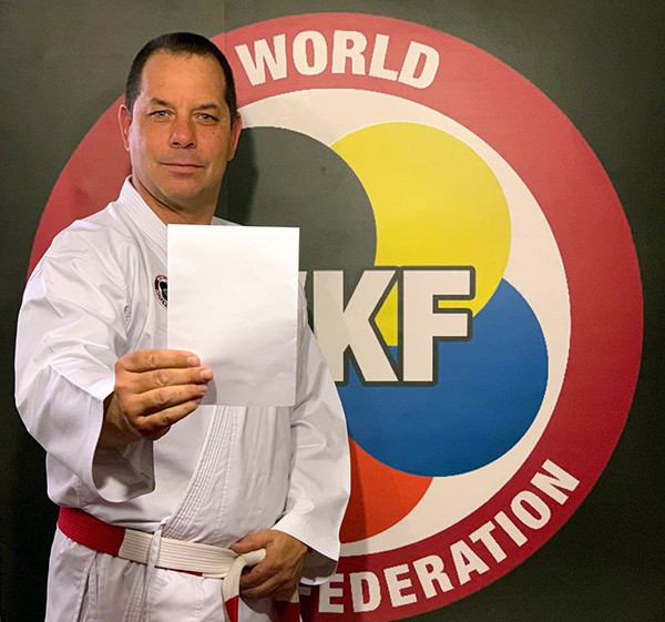 WKF Athletes' Commission chair Davide Benetello said karate aligns with the message of peace through sport ©WKF