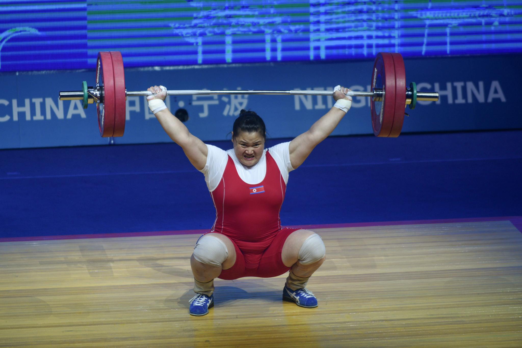Kim Kuk-hyang estaba entre las favoritas por el título de peso pesado femenino