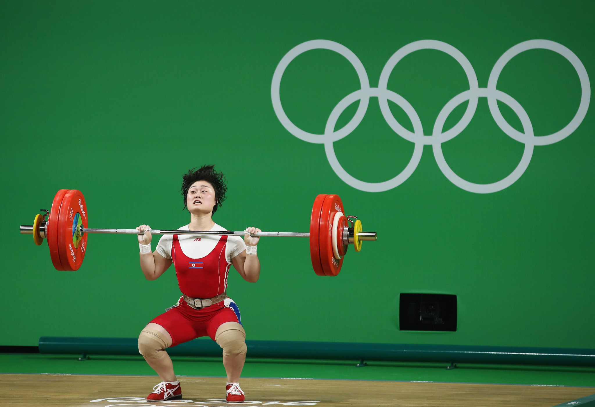 Japanese and American weightlifters can benefit from North Korea's absence at Tokyo 2020