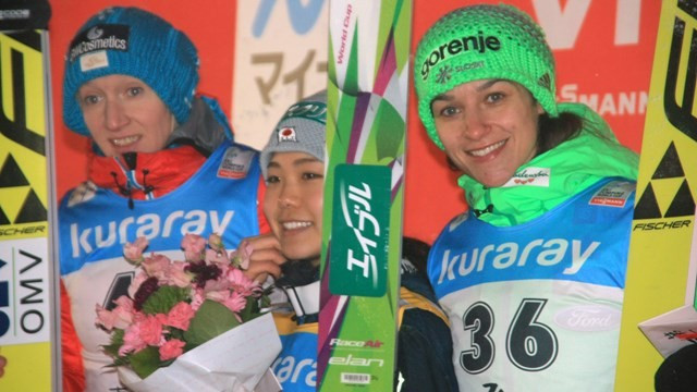 Takanashi secures fourth straight victory at weather-affected Ski Jumping World Cup