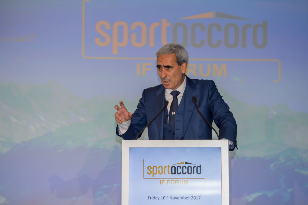GAISF and SportAccord President Raffaele Chiulli said the decision to move the summit had been made to protect the safety of participants ©Getty Images