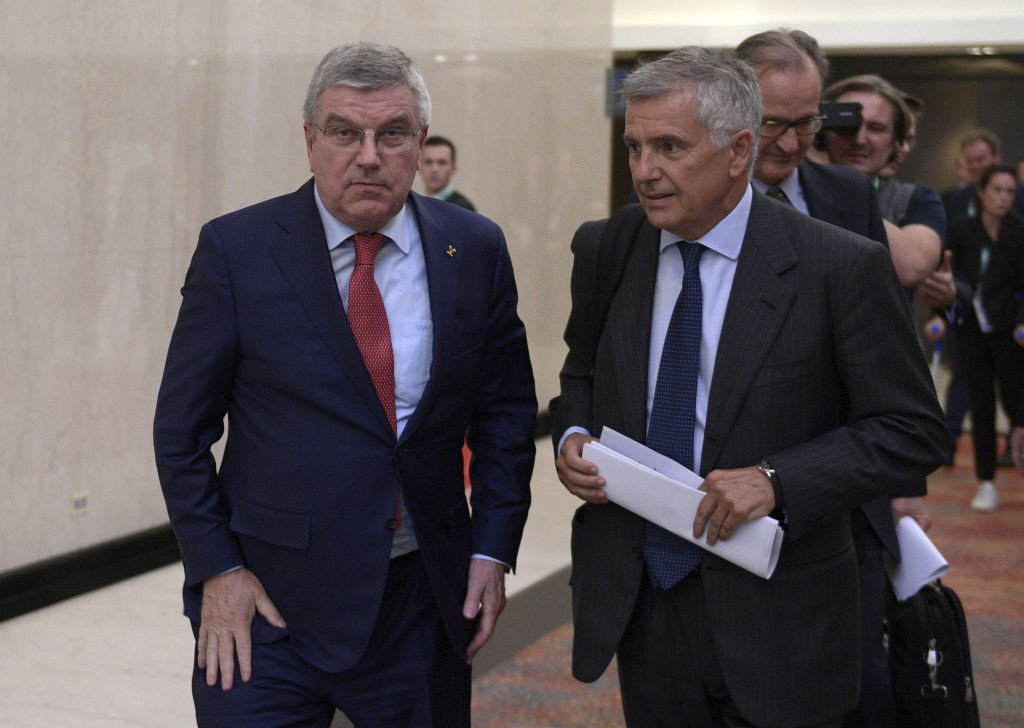 IOC President Thomas Bach is due to step down in 2025 ©Getty Images