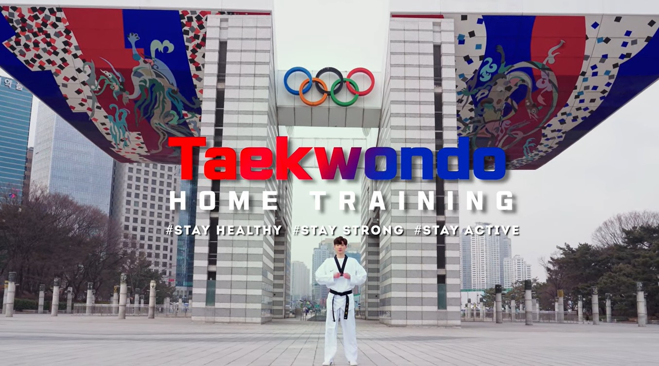 The Korean Sport and Olympic Committee has created a series of home workout videos ©KOSC