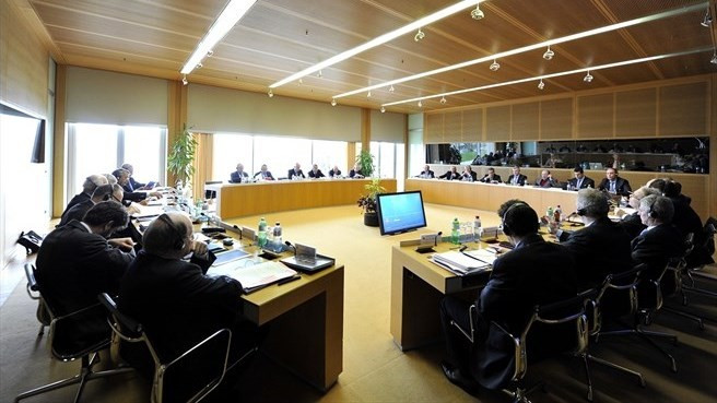 The decision to delay the UEFA Presidential Election was made at the body's Executive Committee meeting in Nyon