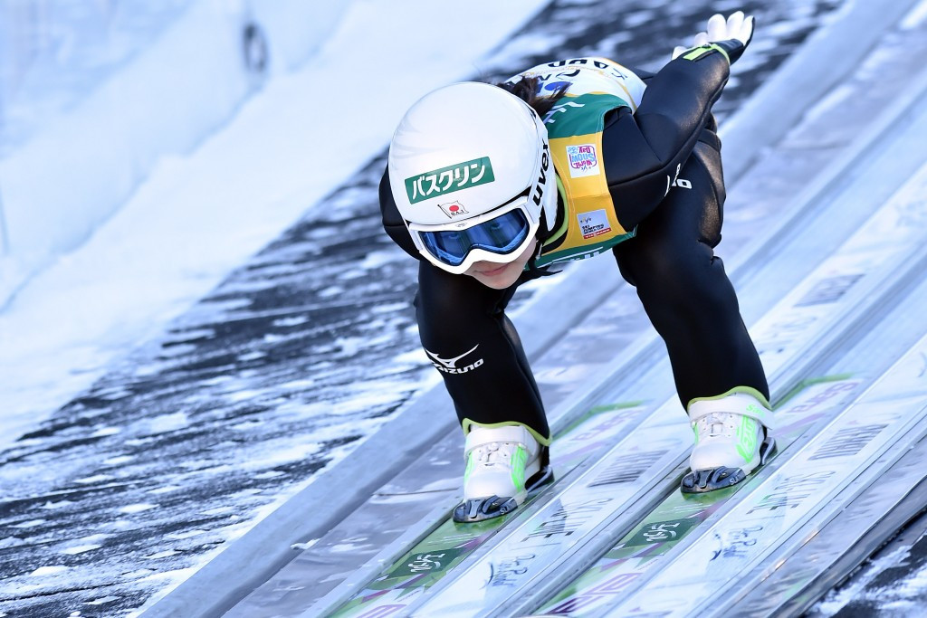 Second place at today's FIS Women's Ski Jumping World Cup in Chaikovsky has returned Japan's Sara Takanashi to the top of the overall rankings ©Getty Images