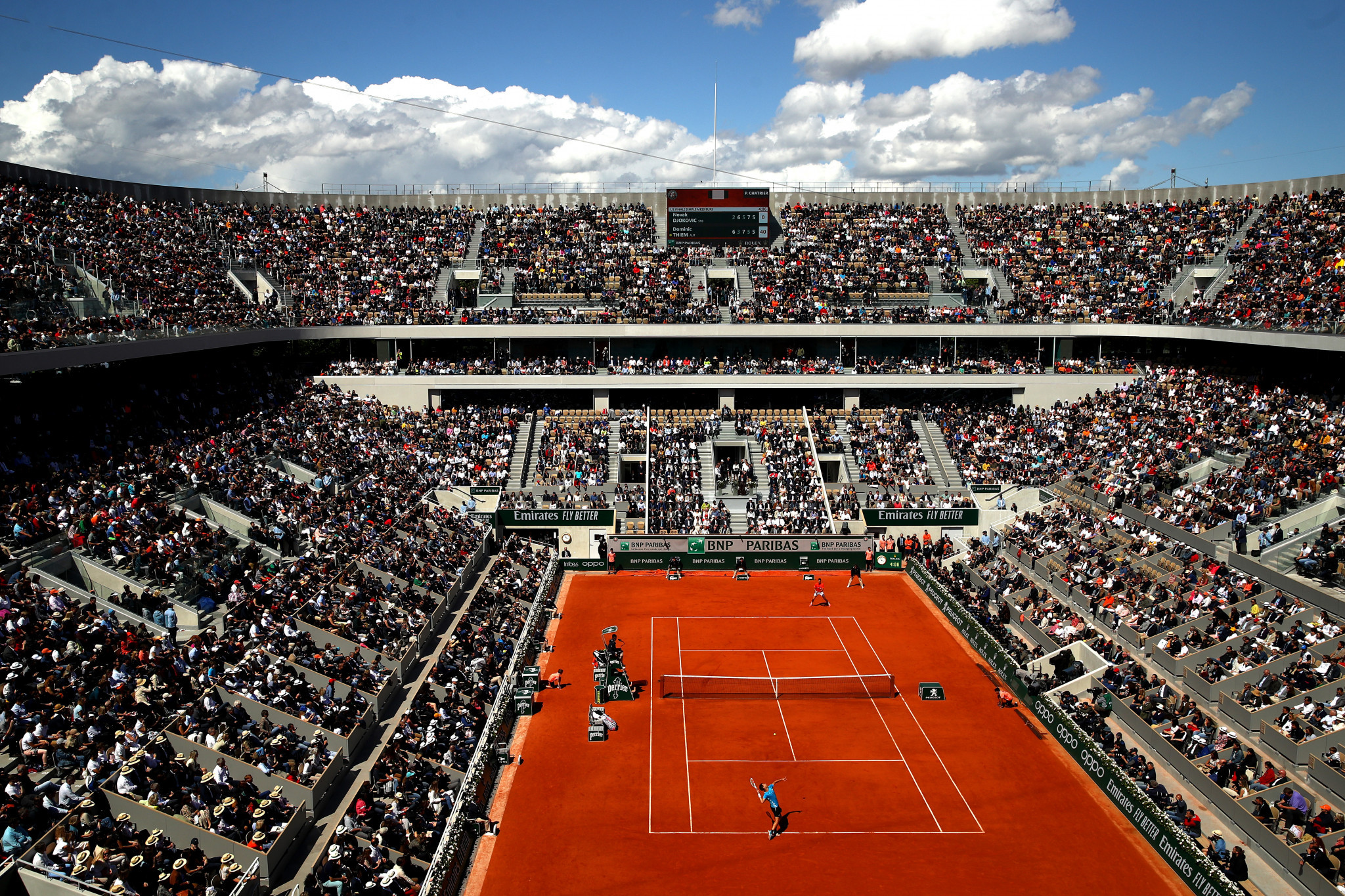 The 2021 French Open has been pushed back by a week ©Getty Images