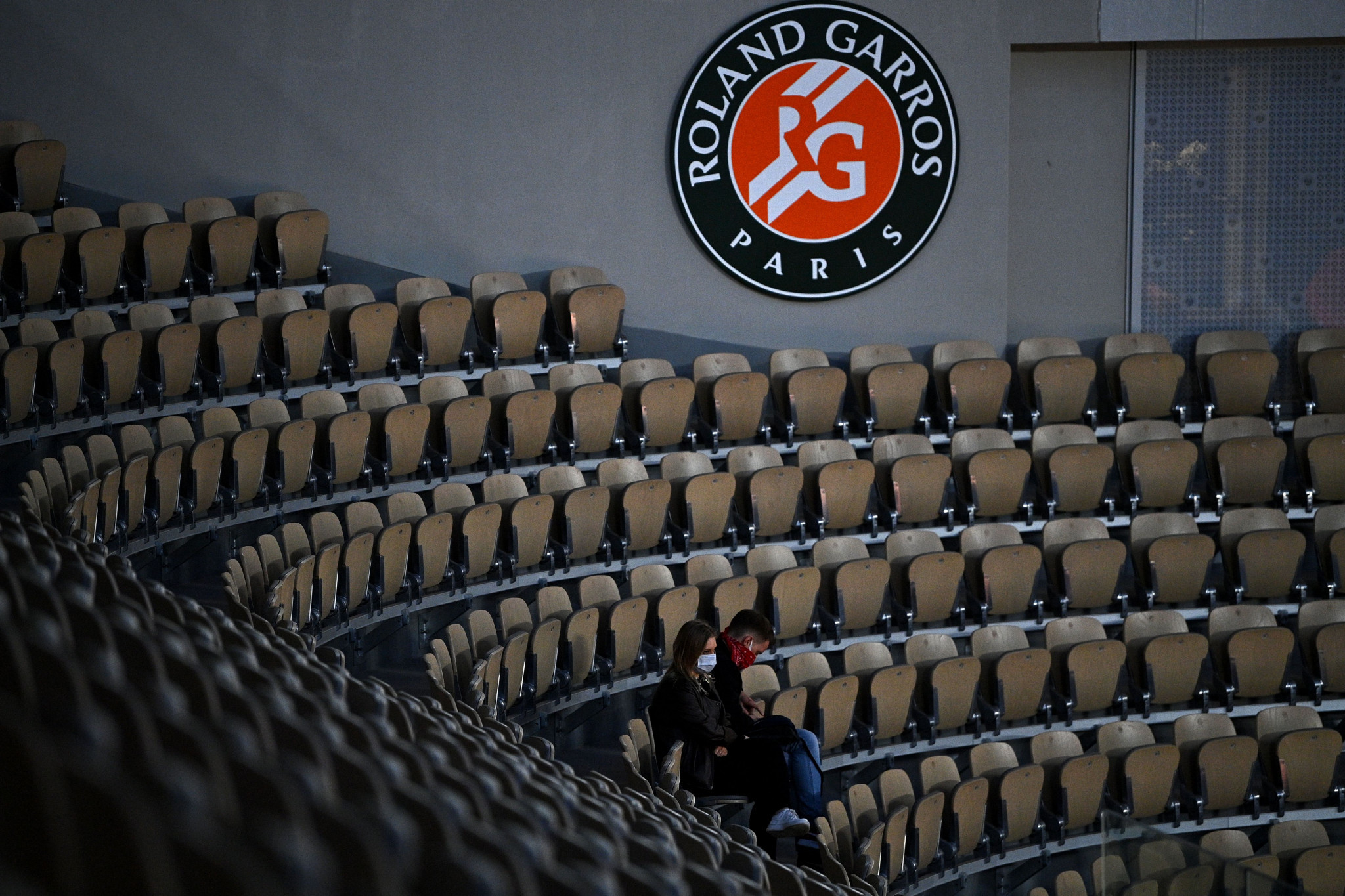 Limited fans were allowed at the 2020 French Open, after it was pushed back to September and October ©Getty Images