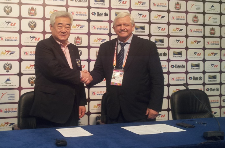 Agreement signed to enhance relations between taekwondo and deaf sport
