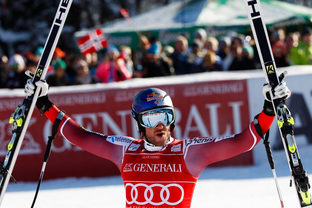 Norwegian Svindal takes seventh victory of FIS Alpine World Cup season with super-G triumph in Kitzbühel