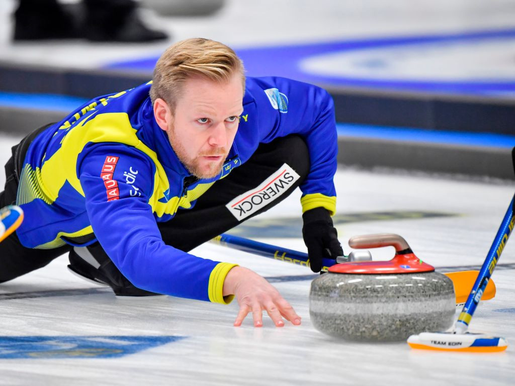 Niklas Edin's rink secured a Beijing 2022 quota for Sweden ©Getty Images