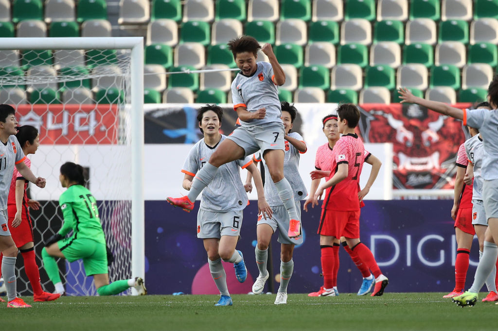 Advantage China after first leg of Tokyo 2020 playoff with South Korea