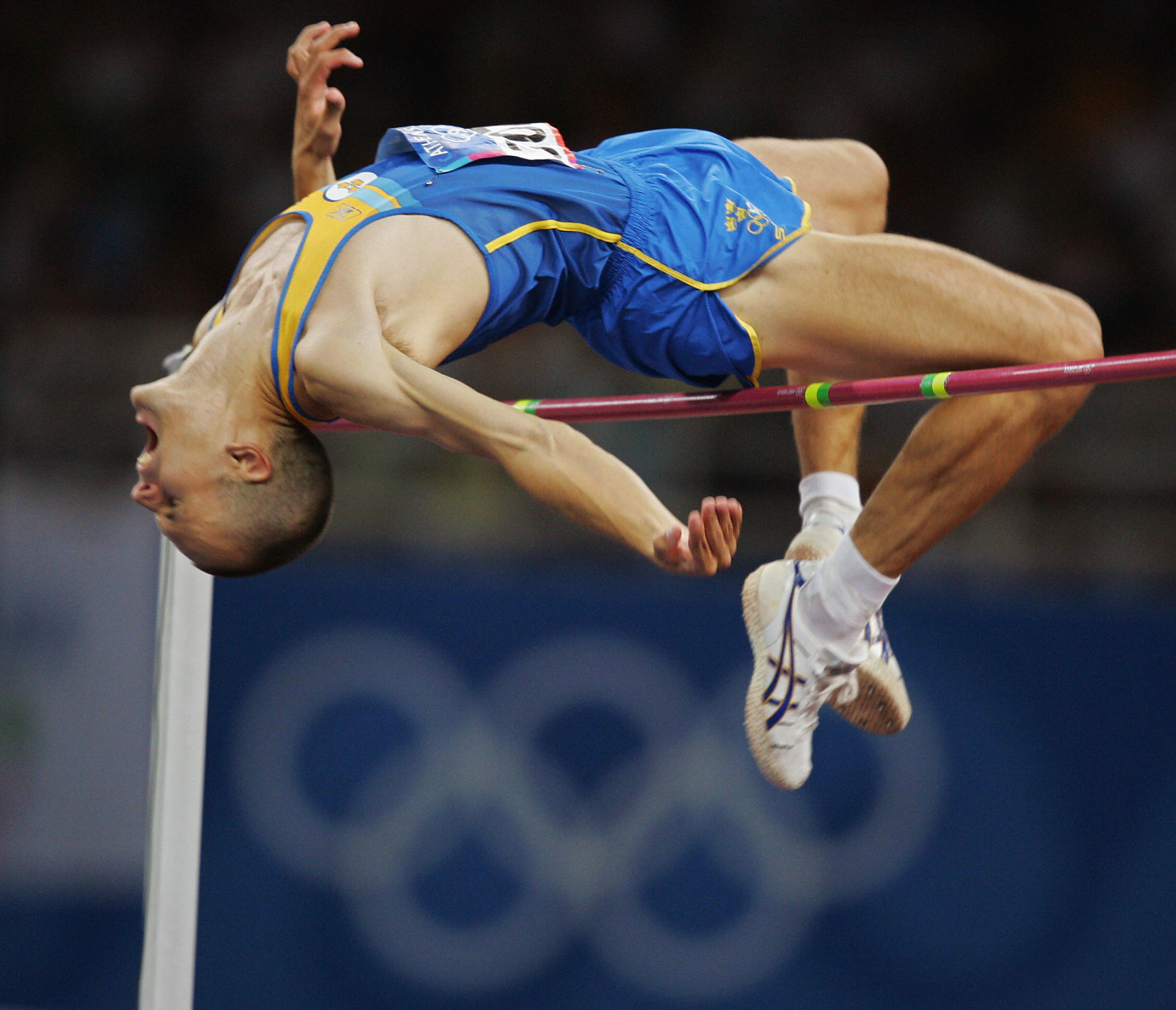 Sweden's Stefan Holm eventually won high jump gold at Athens 2004 ©Getty Images