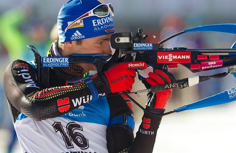 Germany's Simon Schempp shot clean on his way to recording a comfortable victory