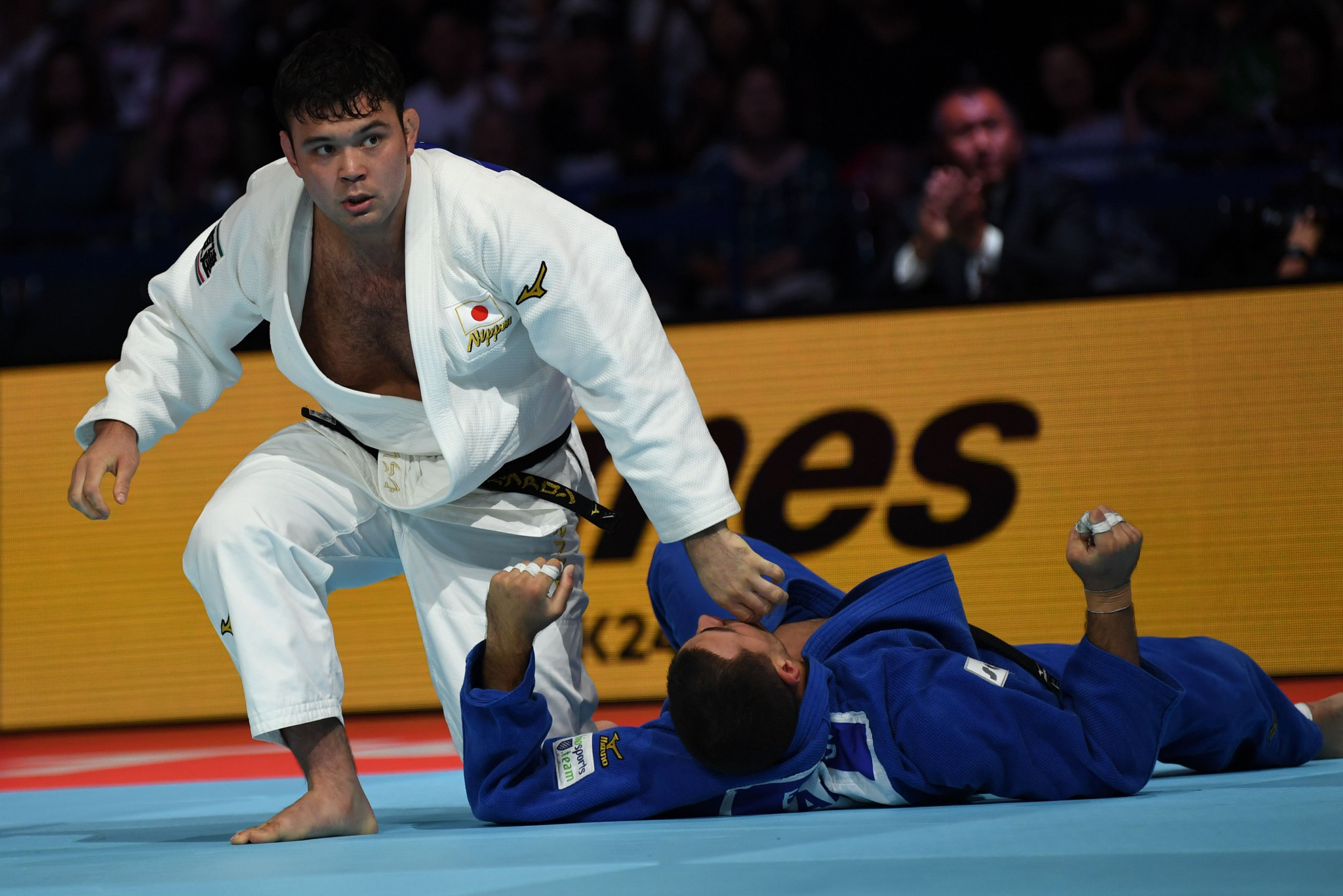 Japan's Tokyo 2020-bound judo stars win double gold at Asia-Oceania Judo Championships