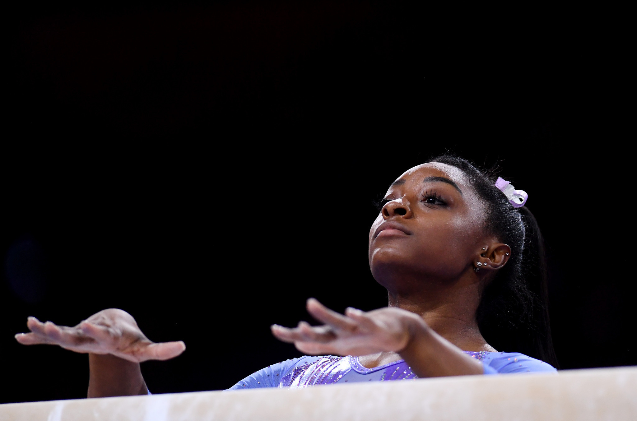 Simone Biles will hope to add to her four Olympic gold medals at Tokyo 2020 ©Getty Images