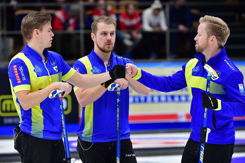 Sweden and RCF through to semi-finals at World Men's Curling Championship