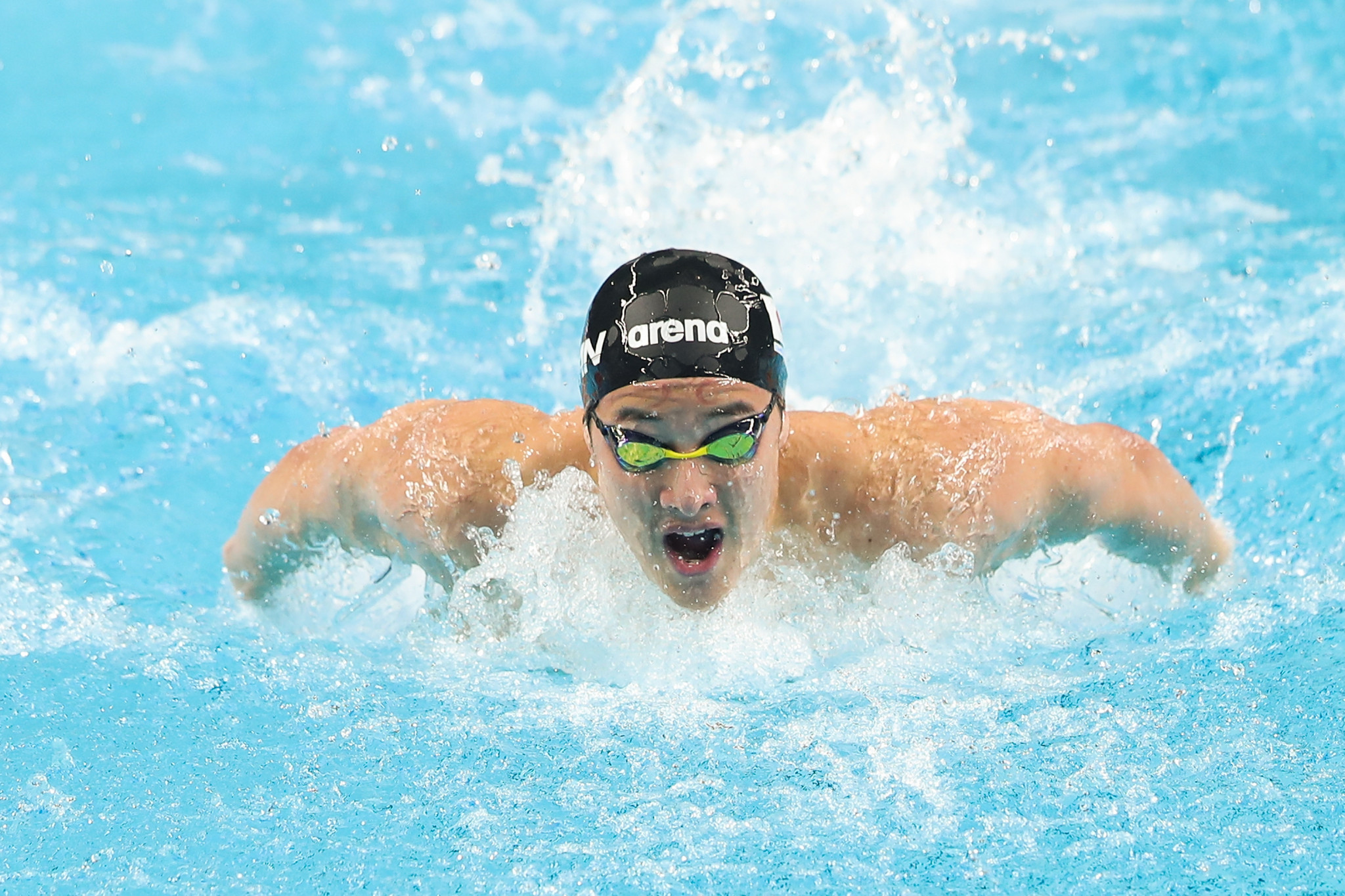 Daiya Seto has qualified for the Olympics in the men's 200m butterfly ©Getty Images