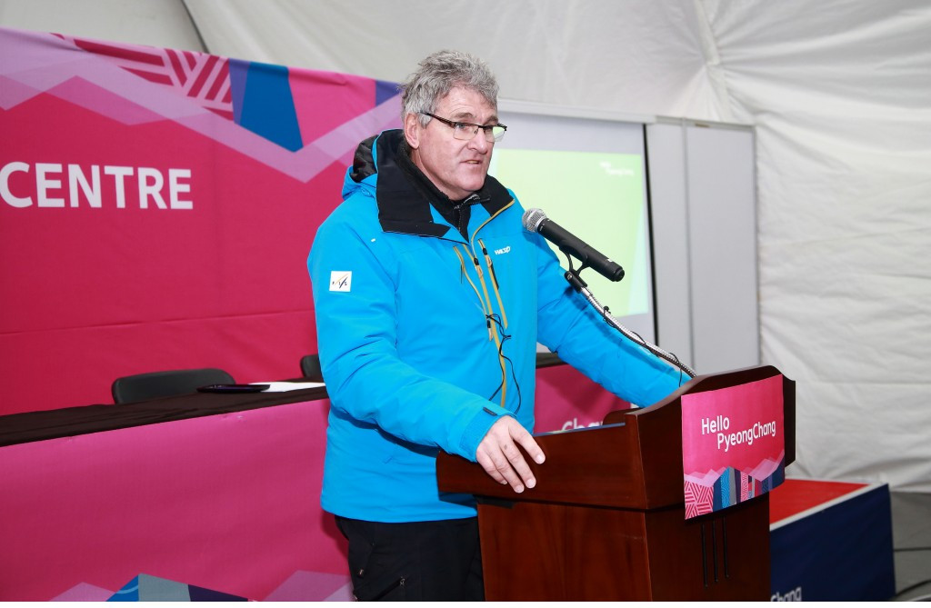 FIS technical expert Guenter Hujara has claimed the course constructed for Pyeongchang 2018 compares with any other in the world ©Pyeongchang 2018