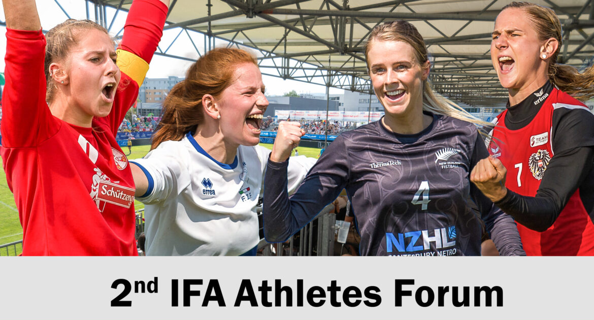 "IFA to hold Athletes Forum with focus on ""Women in Fistball"""