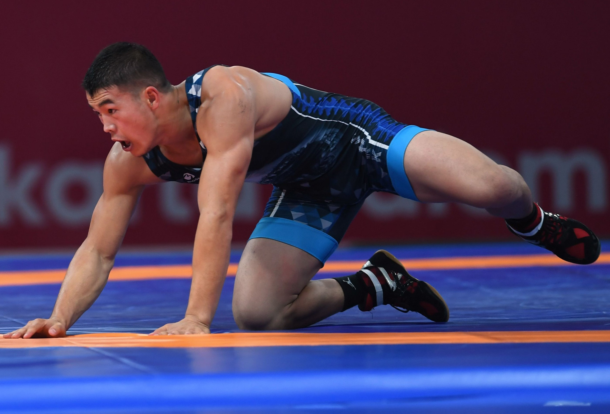 Kyrgyzstan qualified three wrestlers today for Tokyo 2020 today, including Akzhol Makhmudov ©Getty Images