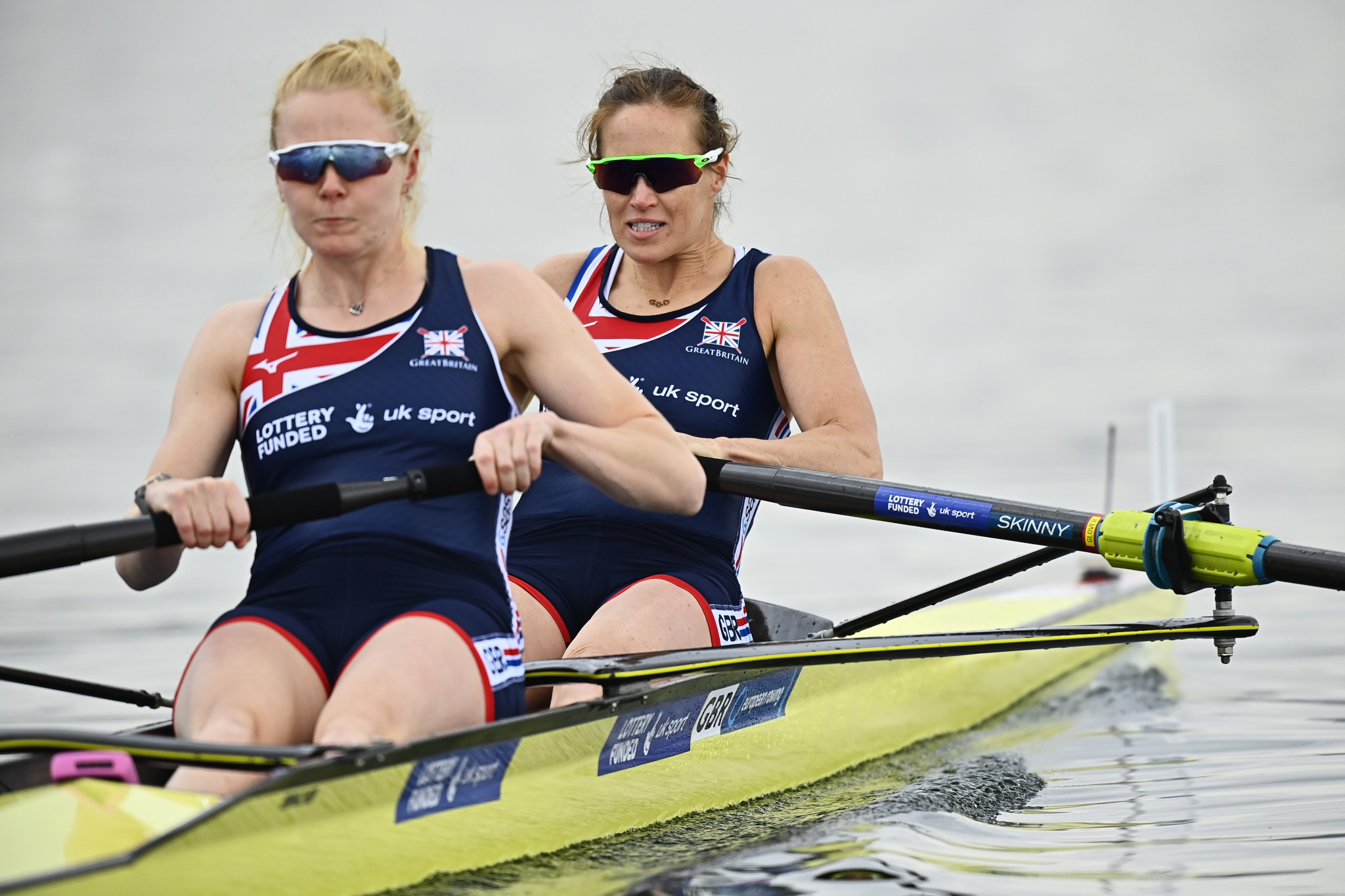 Glover impresses on return to action at European Rowing Championships