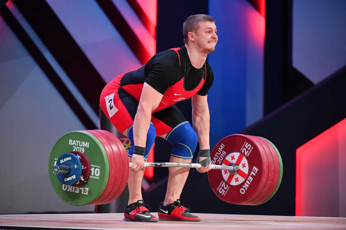 Pliesnoi boosts Olympic hopes with impressive win at European Weightlifting Championships