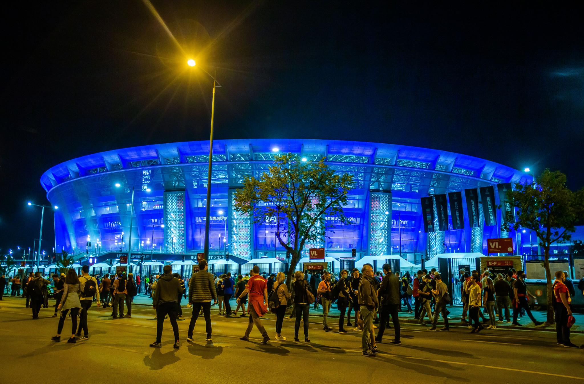 Budapest's Puskás Aréna will be full to capacity at Euro 2020 despite the coronavirus crisis, UEFA says ©Getty Images