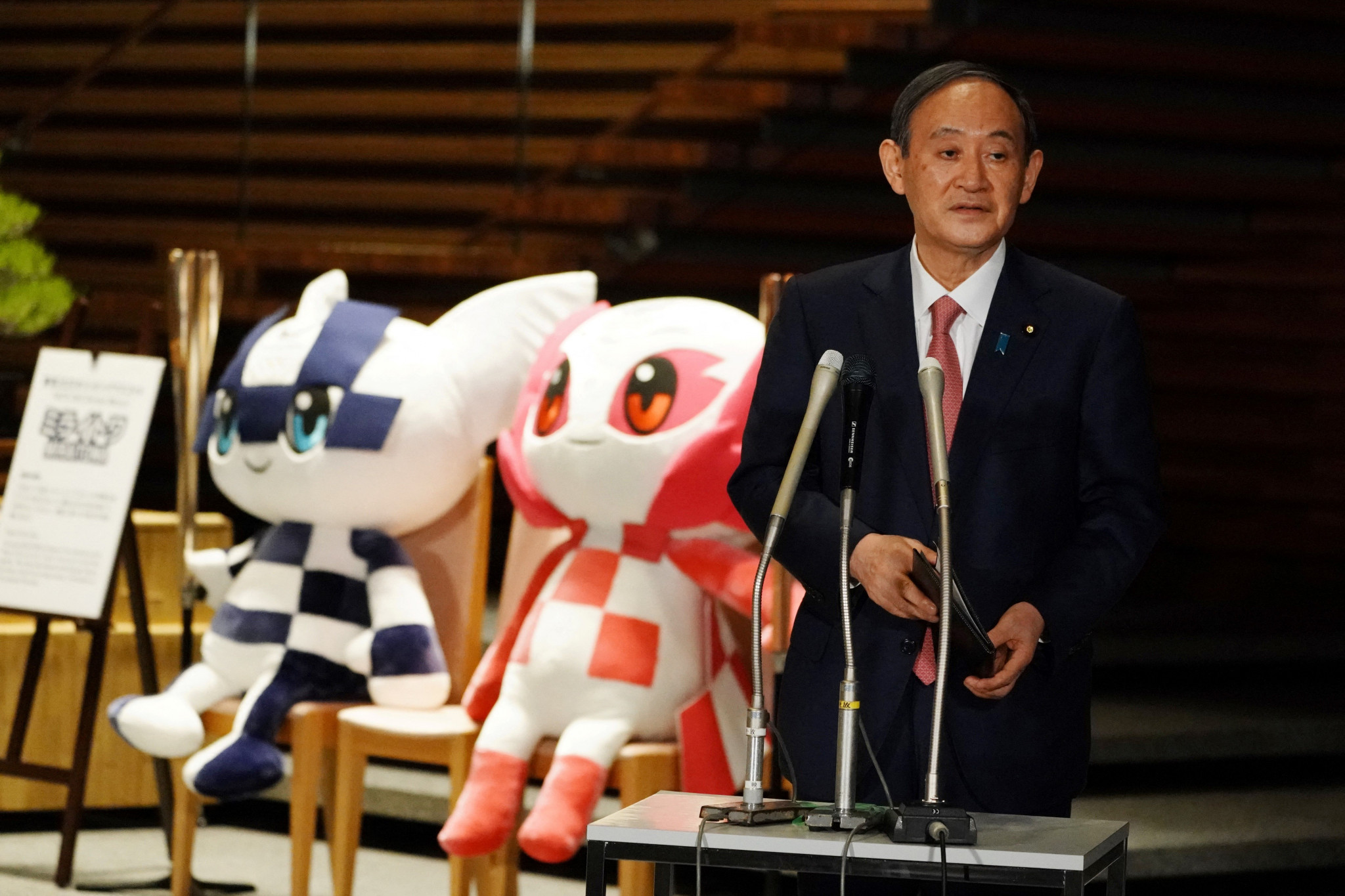 The latest restrictions introduced by Japanese Prime Minister Yoshihide Suga come with Tokyo 2020 drawing nearer ©Getty Images