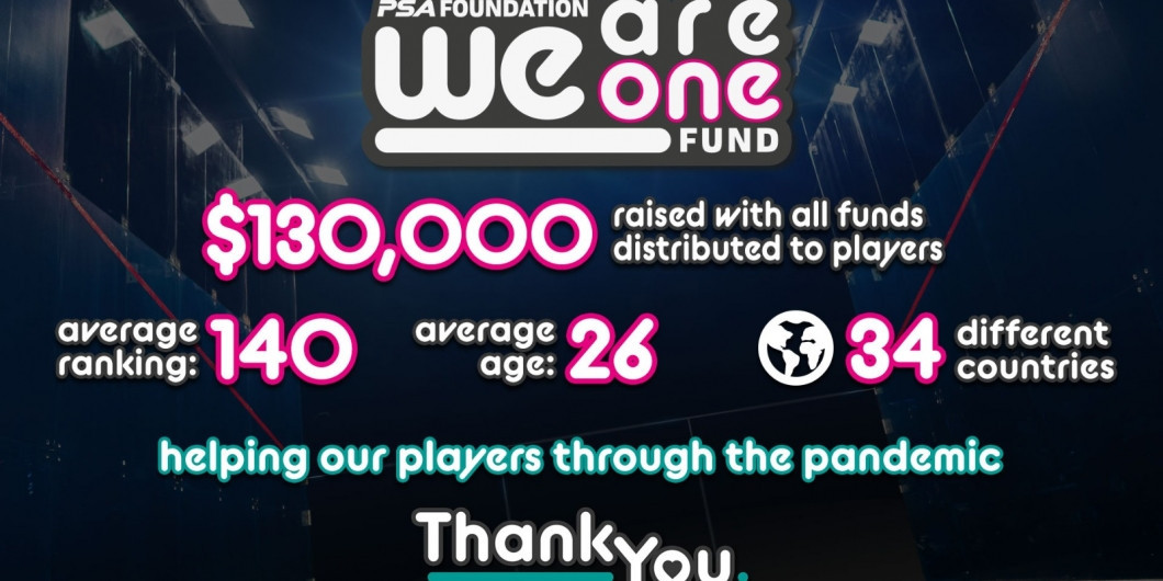 PSA Foundation raises $130,000 in COVID-19 support for players