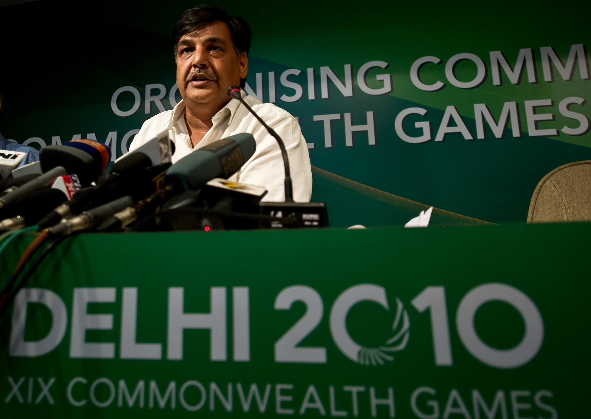 Former Delhi 2010 secretary general Lalit Bhanot reportedly faces further charges related to the Games ©Getty Images