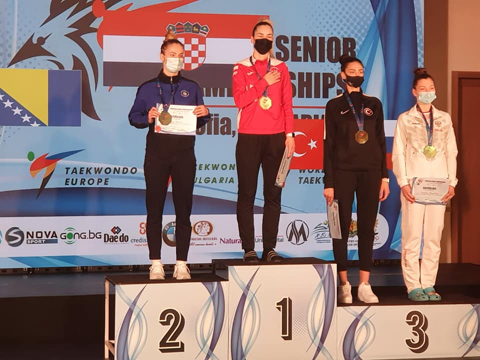Croatia secure double gold on third day of European Taekwondo Championships in Sofia