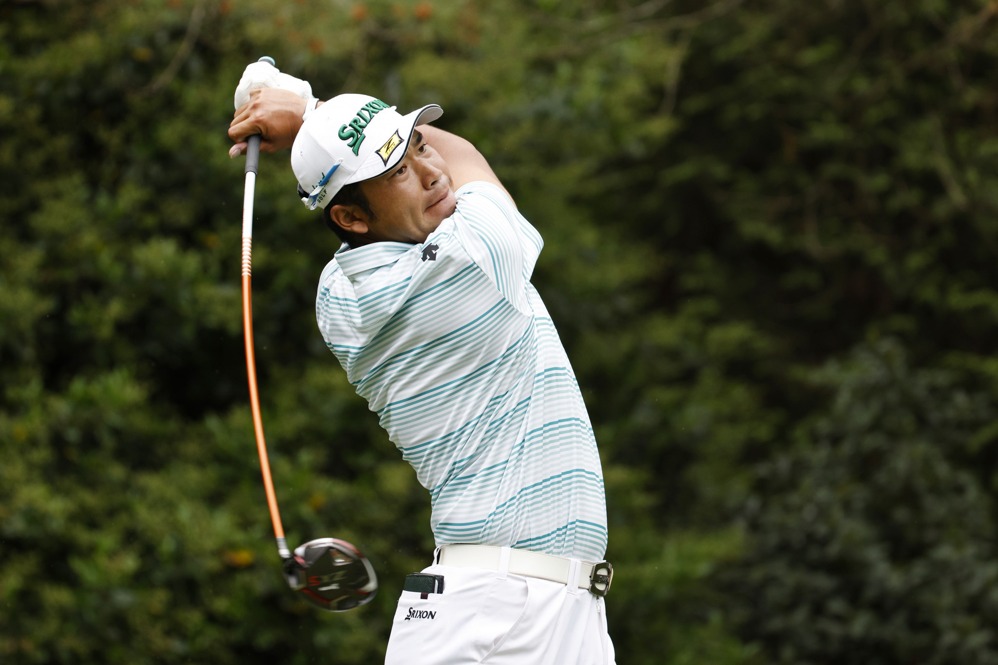 Matsuyama moves into four-shot lead at The Masters