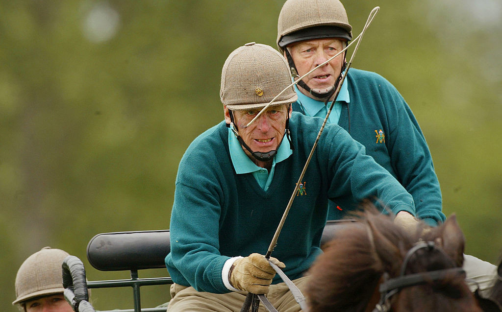 Prince Philip was an accomplished equestrian sportsman and served as President of the International Equestrian Federation for 22 years ©Getty Images