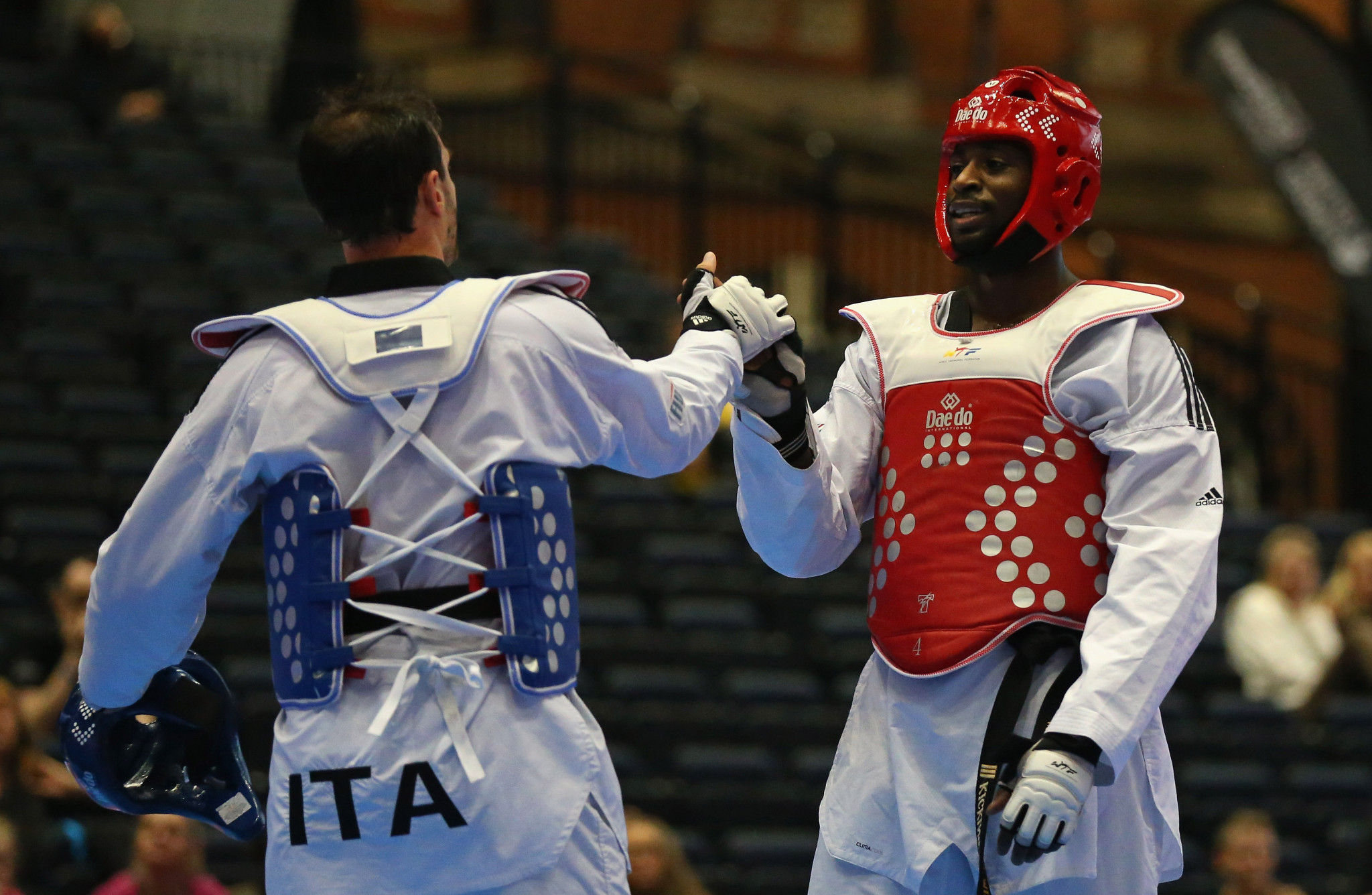 World Taekwondo works to contribute to the success of the Olympic Movement, and champions values such as education, friendship and fair play ©Getty Images