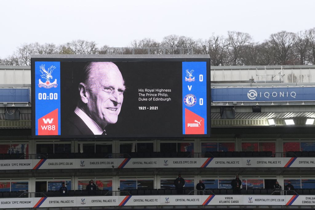 Tributes have been paid to Prince Philip at all sport across Britain this weekend, including in the Premier League ©Getty Images