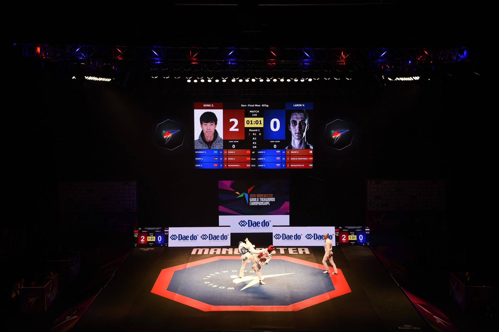 High quality events such as the World Taekwondo Championships leave a lasting legacy and help promote the sport to new audiences ©Getty Images