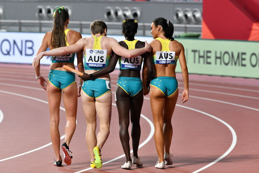 Australian athletes will not be present at the World Relay in Poland next month © Getty Images