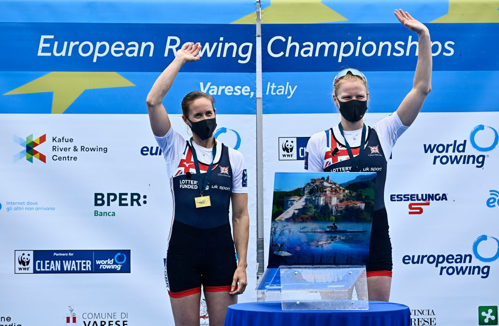 Glover's golden run resumes at European Rowing Championships in Varese