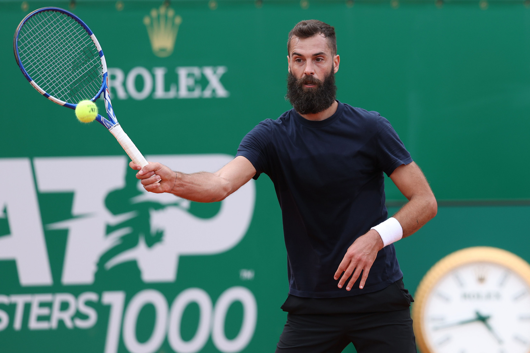 Benoît Paire suffered his latest defeat with the Frenchman comparing the court to a cemetery ©Getty Images