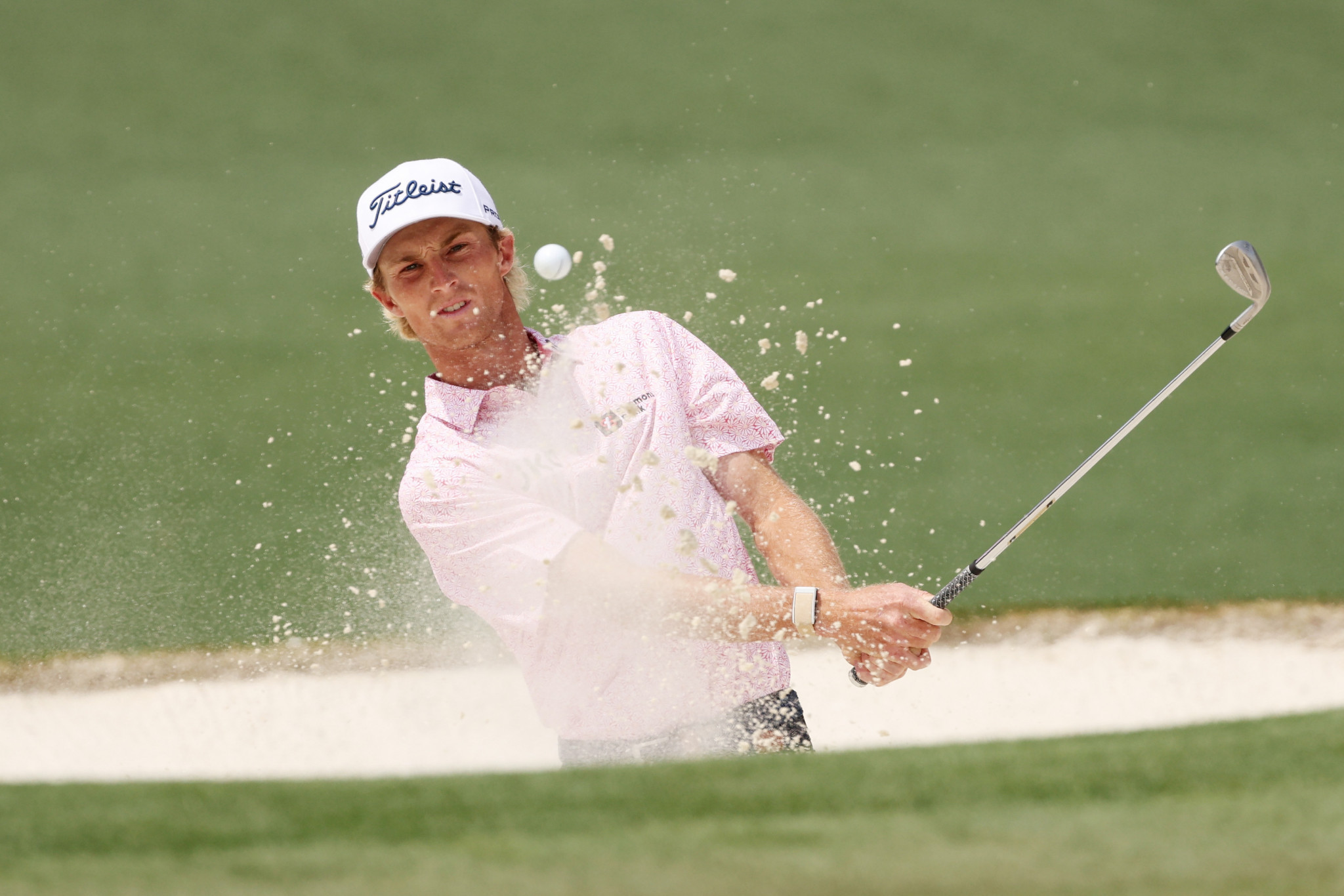 Will Zalatoris, 24, came second on his Masters debut ©Getty Images