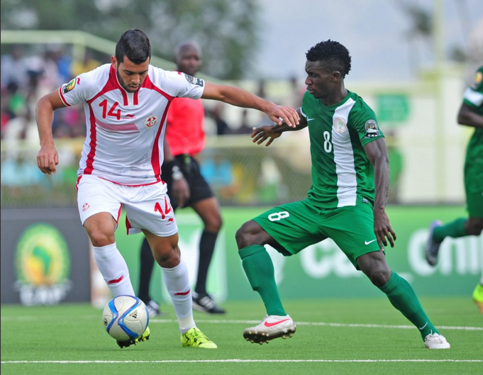Nigeria held to draw by Tunisia at African Nations Championship