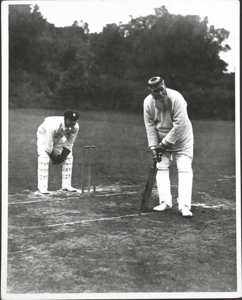 England's W G Grace, one of the great figures in cricket, and a man not averse to what you might term gamesemanship - especially when it came to playing Australia ©Getty Images