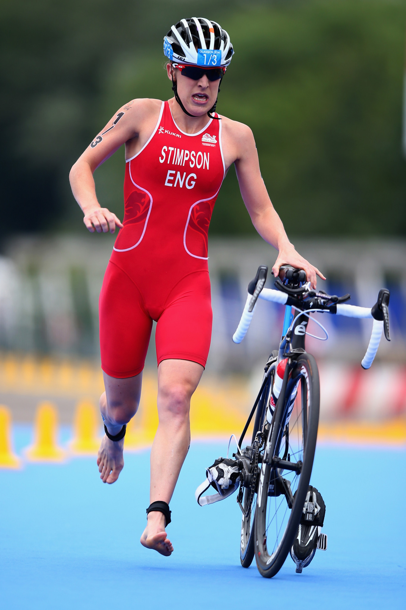Jodie Stimpson believes Birmingham will embrace the Commonwealth Games with large crowds ©Getty Images