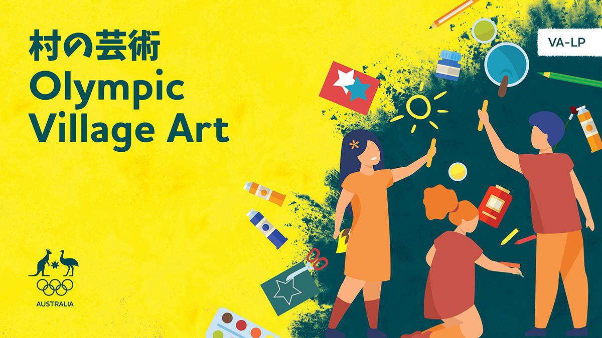 Children invited to create artworks for Australian athletes in Tokyo 2020 Village