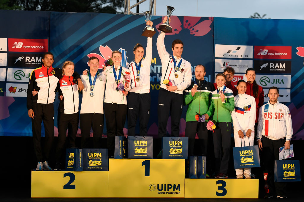 UIPM secretary general Shiny Fang has challenged musicians to create an anthem for the sport that reflects its key Olympic heritage ©Getty Images