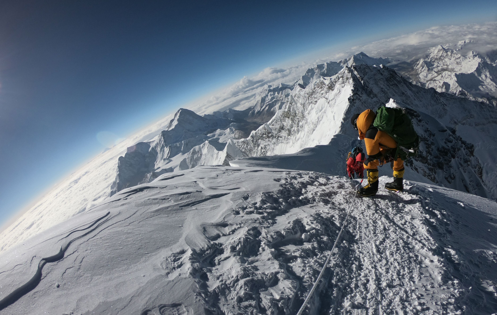 No foreign mountaineers are expected in the Himalayas this season ©Getty Images
